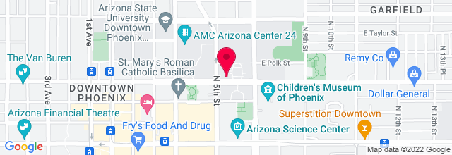 Map for Phoenix Convention Center
