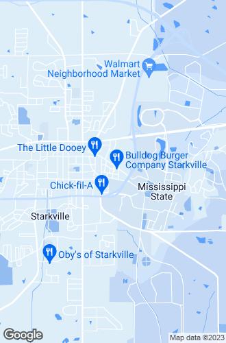 Map of Starkville