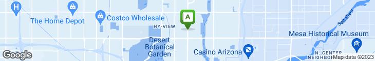 Map of Flicka's Bar & Grill