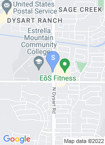 Estrella Mountain Community College map
