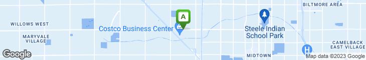 Map of Bill Johnson's Big Apple Restaurant