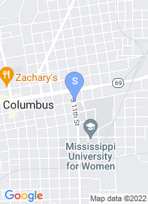 Mississippi University for Women map