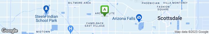 Map of The Chicago Hamburger Company