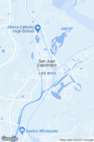 Map of San Juan Capistrano