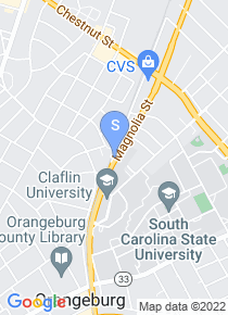South Carolina State University map