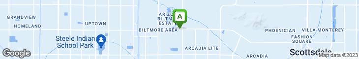 Map of Donovan's of Phoenix