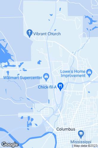 Map of Columbus