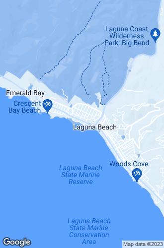 Map of Laguna Beach