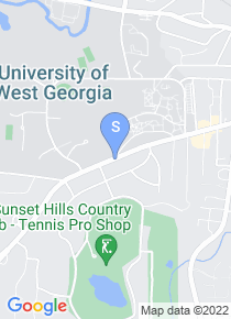 University of West Georgia map