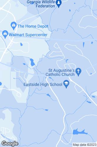 Map of Covington