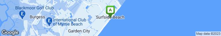 Map of Surf Diner