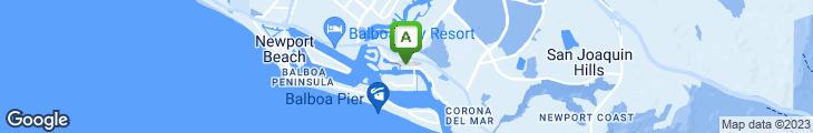 Map of Bayside Restaurant