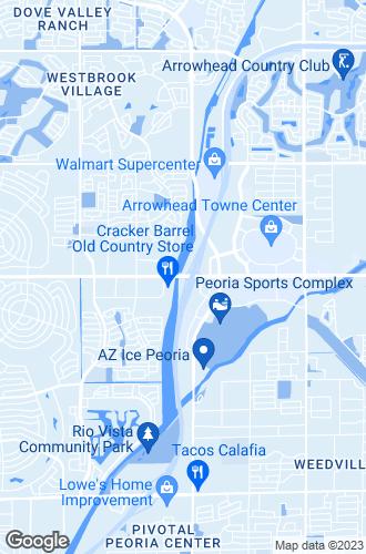 Map of Peoria