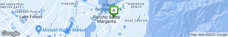 Map of Hanna's Restaurant & Bar