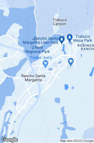 Map of Rancho Santa Margarita
