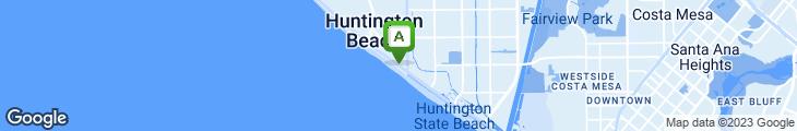 Map of Californian Restaurant