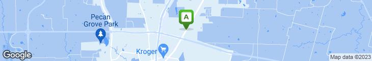 Map of Grandy's