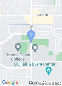 Orange Coast College map