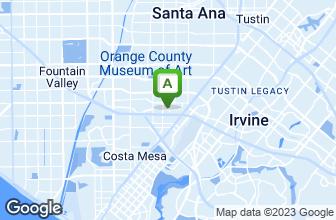 Map of Mastro's Steakhouse - Costa Mesa