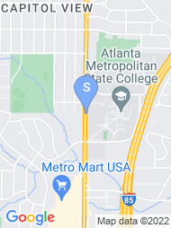Atlanta Metropolitan College map
