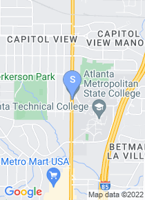 Atlanta Technical College map