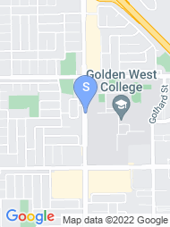 Golden West College map