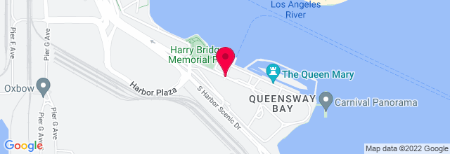Map for The Queen Mary