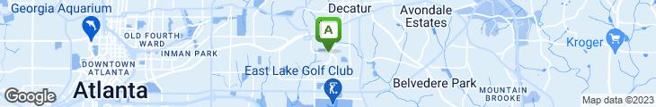 Map of Steinbecks Restaurant