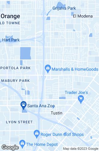 Map of Tustin
