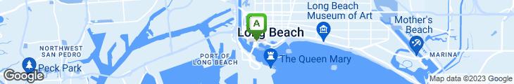 Map of Bubba Gump Shrimp