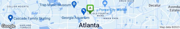 Map of Barley's Sports Bar & Lounge