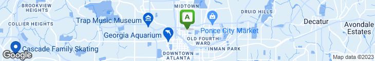 Map of Midtown Tavern