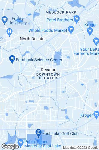Map of Decatur
