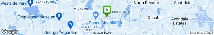 Map of Neighbor's Pub