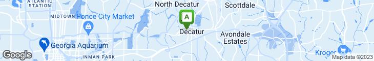 Map of Taco Mac
