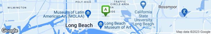 Map of Thai Barbeque-Long Beach
