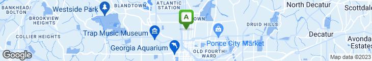 Map of Cypress Street Pint & Plate