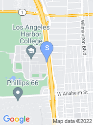 LA Harbor College map