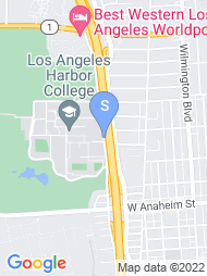 Los Angeles Harbor College map
