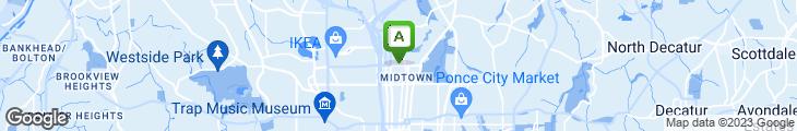 Map of Park 75 Restaurant