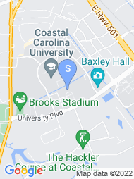Coastal Carolina University map