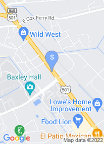 Horry Georgetown Tech map