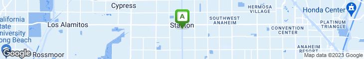 Map of Park Ave Restaurant