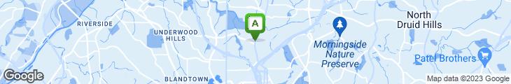 Map of Black Bear Tavern
