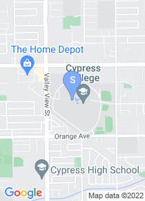 Cypress College map