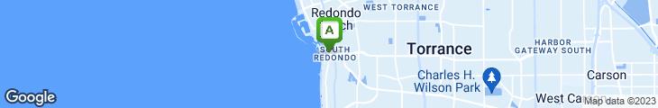 Map of Pacific Edge California Bistro