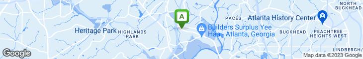 Map of Blackstone Restaurant