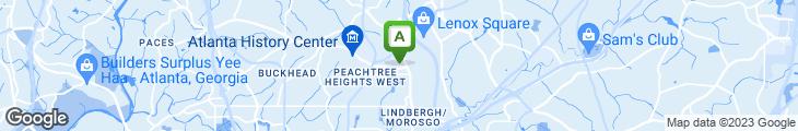 Map of Soleil Nu Bistro