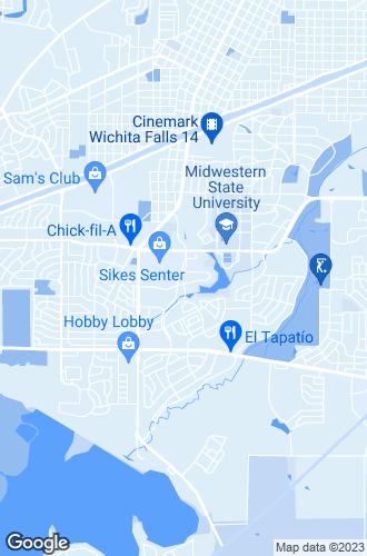 Map of Wichita Falls