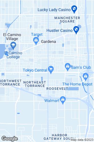Map of Gardena